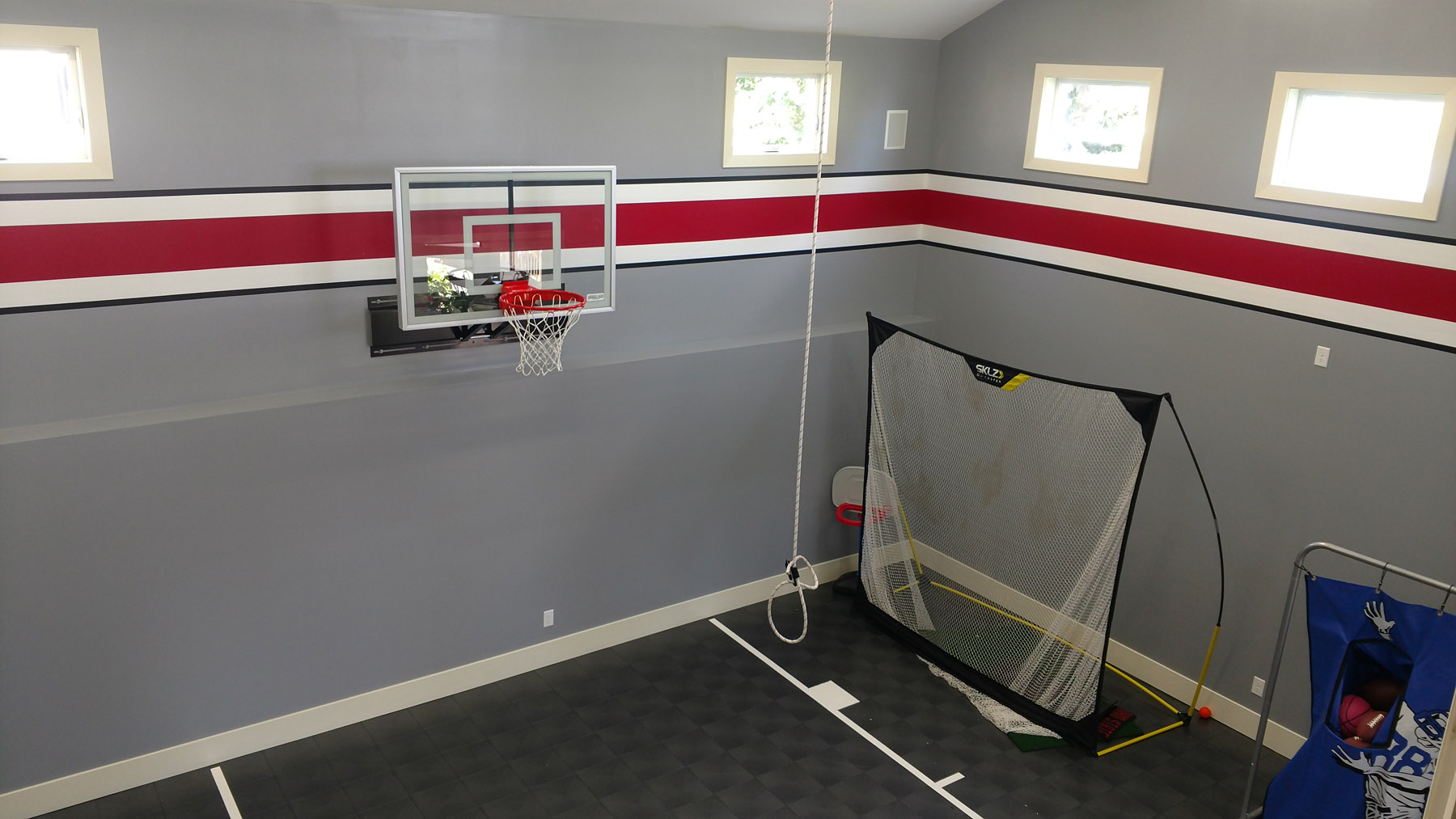 Blaine Indoor Sports Room® Addition