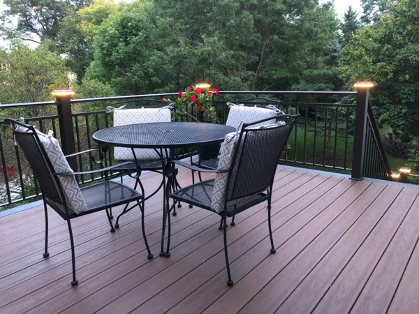 Timbertech Decking & Wraps with LED lights