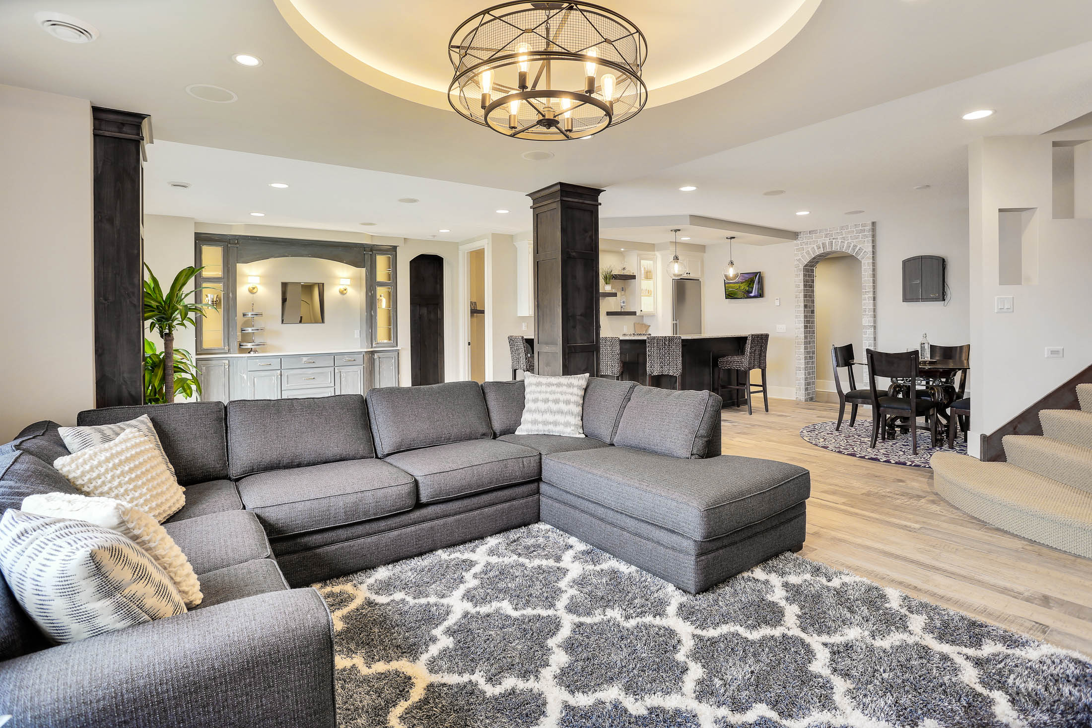 Spacious, amazing 2,560 sq. ft. lower level