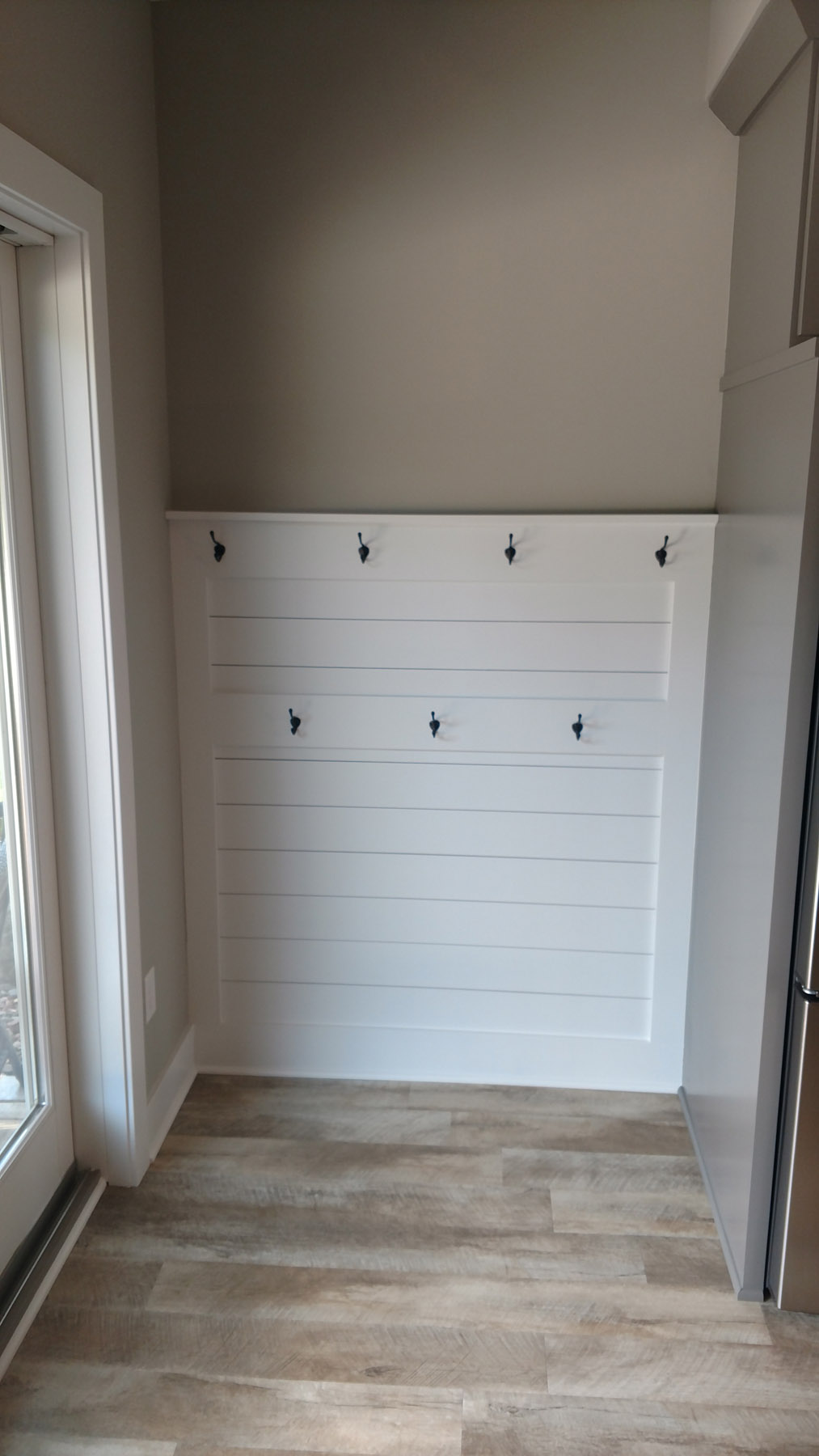 Wainscoting Towel Wall