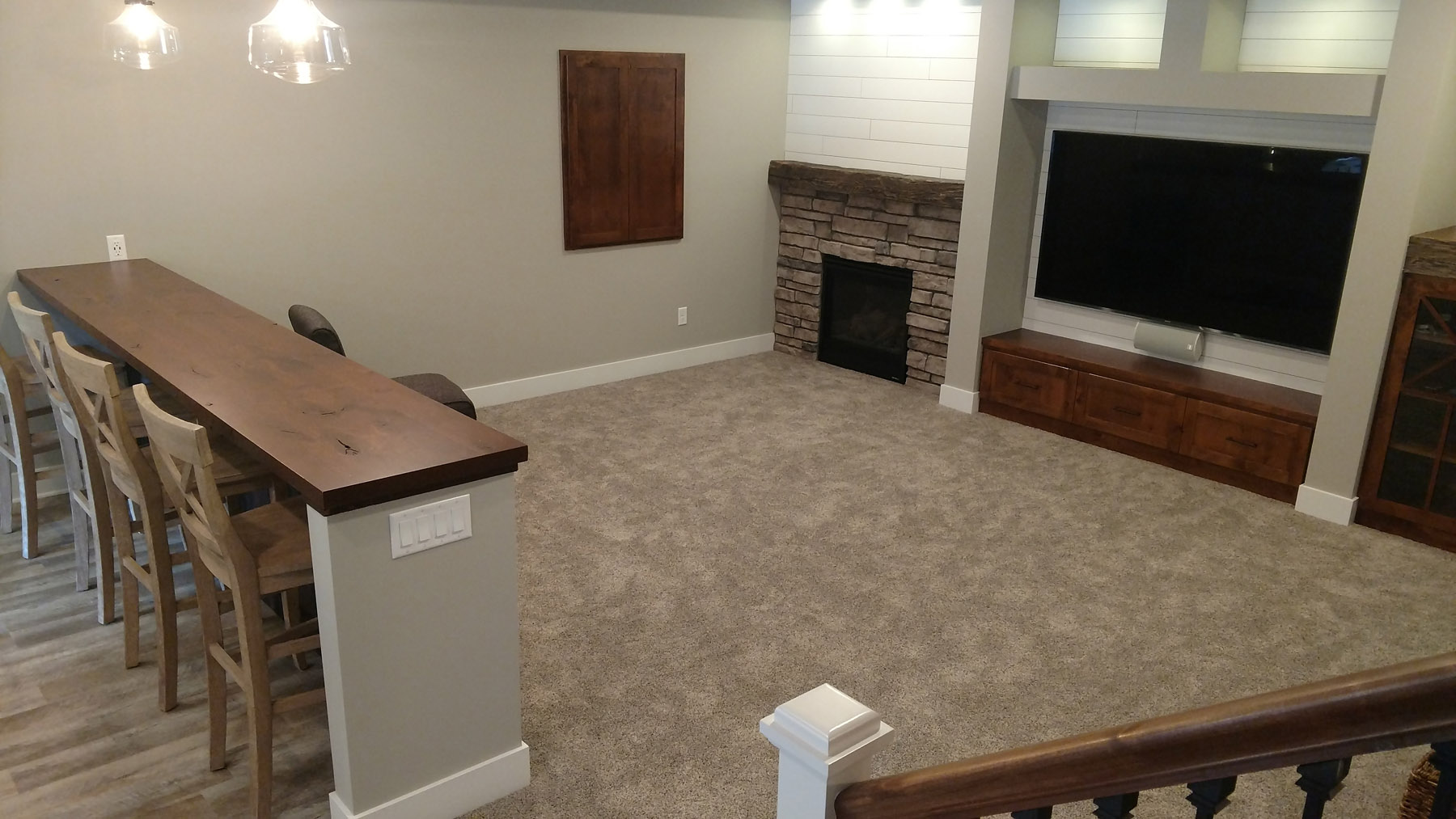 Carpet Media Room