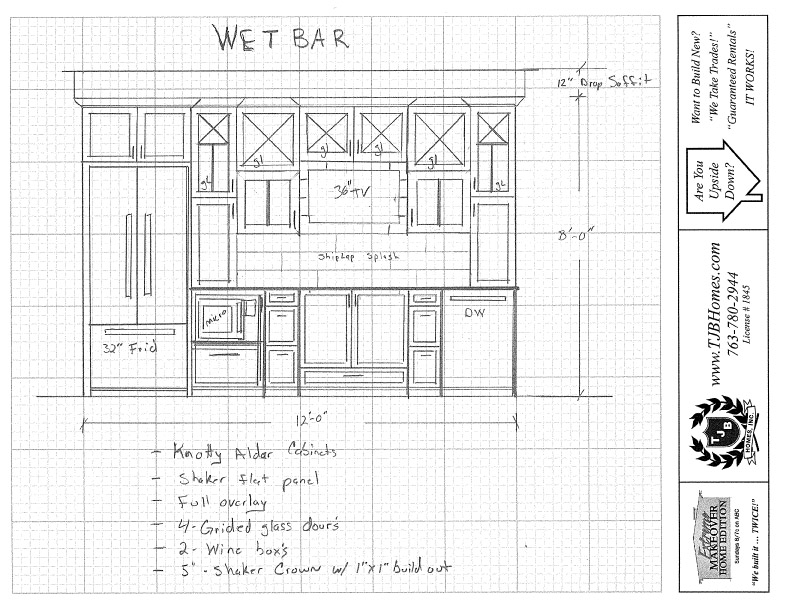 Sketch - Wet Bar