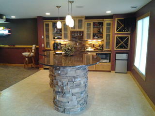 Lower Level Finish over 1,000 sq. ft. Remodeling Specials