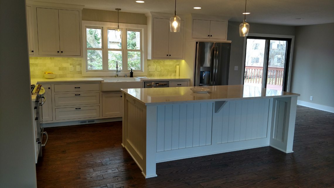 Edina Kitchen & Family Room