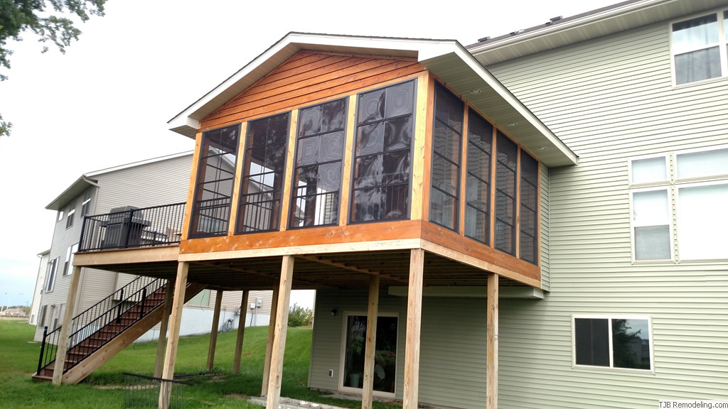3 Season Porch and deck addition