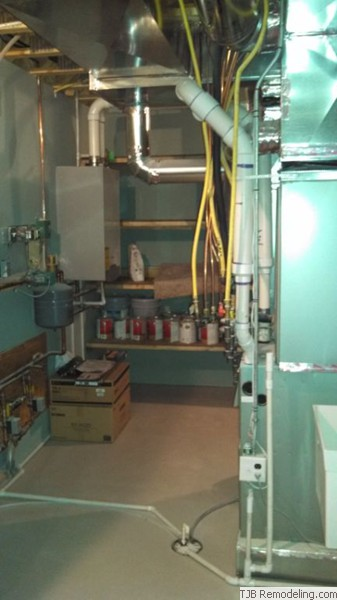 Finished Mechanical Room