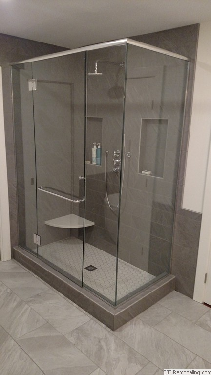 Elegant Glass Shower Enclosure