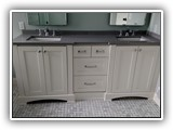 Enameled vanity & woodwork