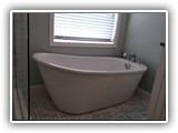 Lady slipper free-standing soaking tub!