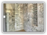Marble Tile Shower Wall