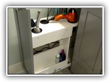 Pull-out Drawers for Hair Dryer, Curling Iron, Accessories