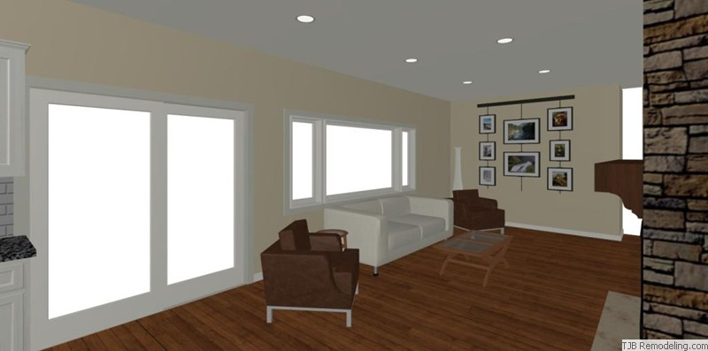 Family Room Design Plan