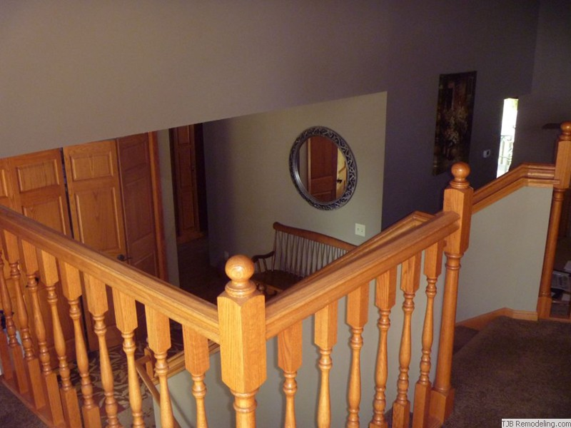 Before Remodel - Wood Railings
