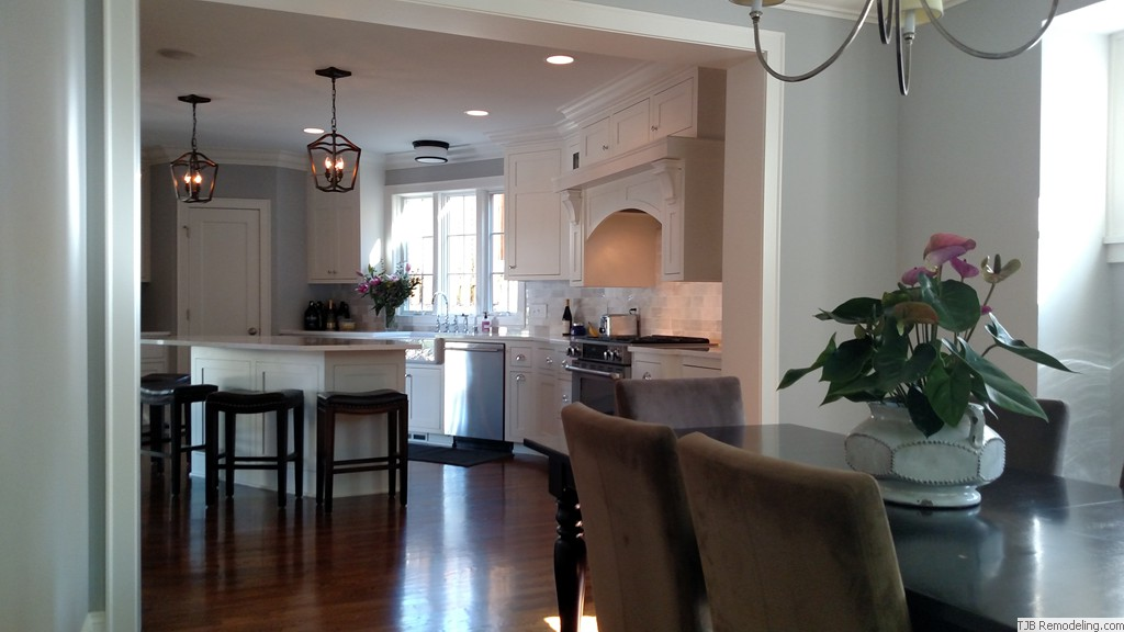 Open to dining area