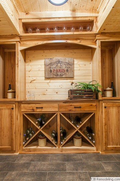 Wine Cellar Built-in Racks