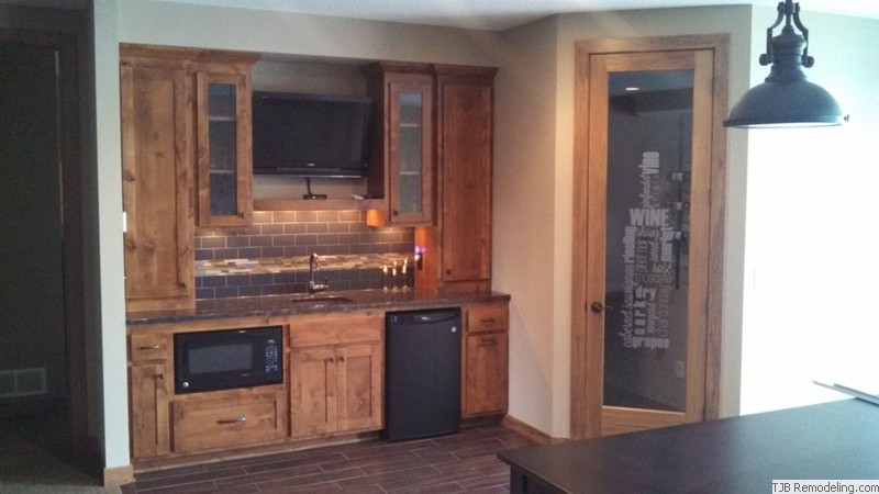 Wet Bar Wine Cellar Combo