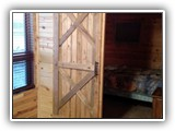 Open Sliding Barn Door