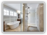 Freestanding Tub & Massive Walk-in Shower