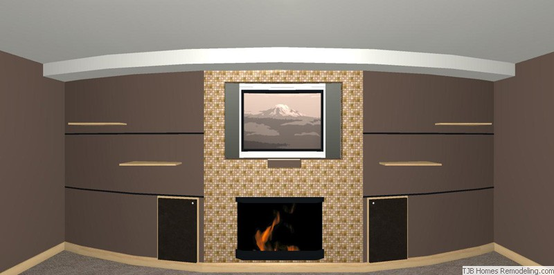 Fireplace Revised Elevation
