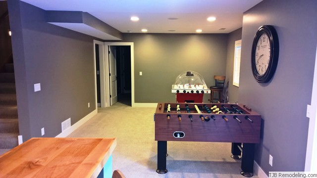 Remodeled Basement
